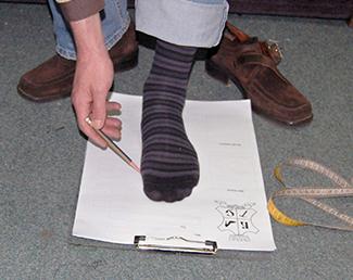 Ocrtavanje na papiru - 60 stepeni