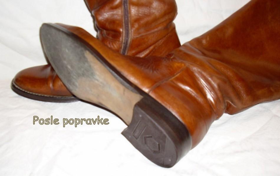 Ženske čizme – zamena pendžete i flekice